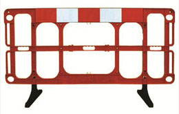 Road Work Barriers from BarrierHire.com