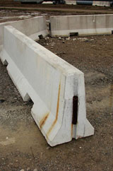 Concrete Barriers from BarrierHire.com