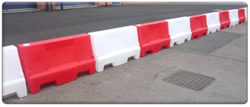 Plastic Crash Barriers from BarrierHire.com