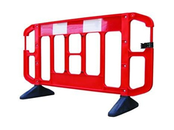 Plastic Road Barriers from BarrierHire.com