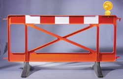 Road Barriers from BarrierHire.com