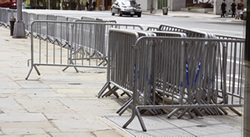 Temporary Pedestrian Barriers from BarrierHire.com