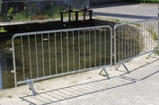 Temporary Road Barriers from BarrierHire.com
